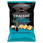 Jacobs Salt & Vinegar Cracker Crisps