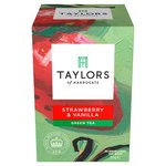 Taylors Strawberry & Vanilla Green Tea 20s