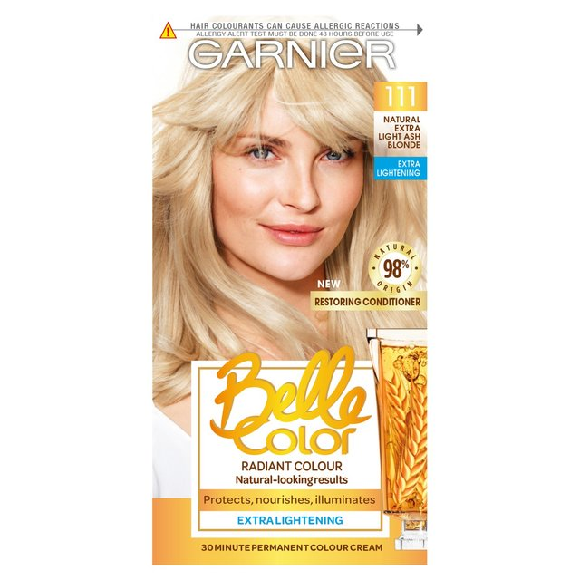 Morrisons Garnier Belle Color Extra Light Ash Blonde 111