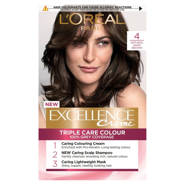 L Oreal Excellence Dark Chocolate Brown Reviews