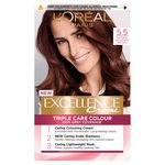 L'oreal Excellence Creme Mahogany Brown 5.5
