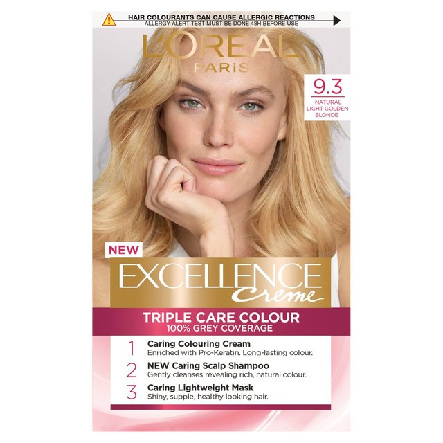 Lu0027oreal Excellence Creme Light Golden Blonde 9.3