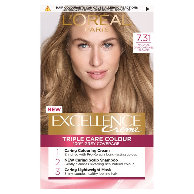 L39oral Paris Casting Crme Gloss 834 Caramel Blonde Of