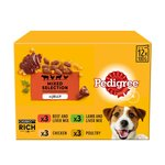 Pedigree Complete Pouch Favourites Jelly