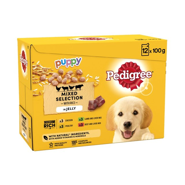 Pedigree Pouch Jelly Puppy