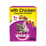 Whiskas Complete Dry With Chicken