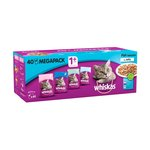 Whiskas Complete Pouch Fishermans Choice