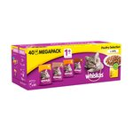 Whiskas Complete Pouch Poultry Selection