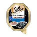 Sheba Tray Sauce Lover With Tuna