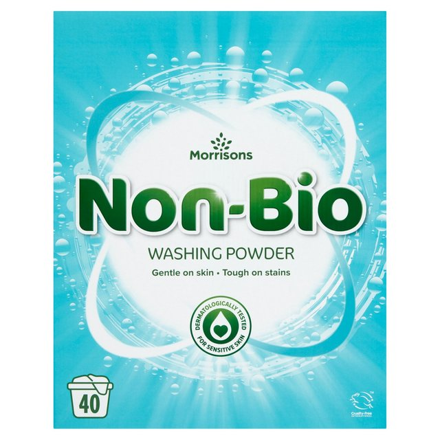 Morrisons Laundry Powder Non Bio
