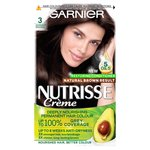 Garnier Nutrisse Darkest Brown 3