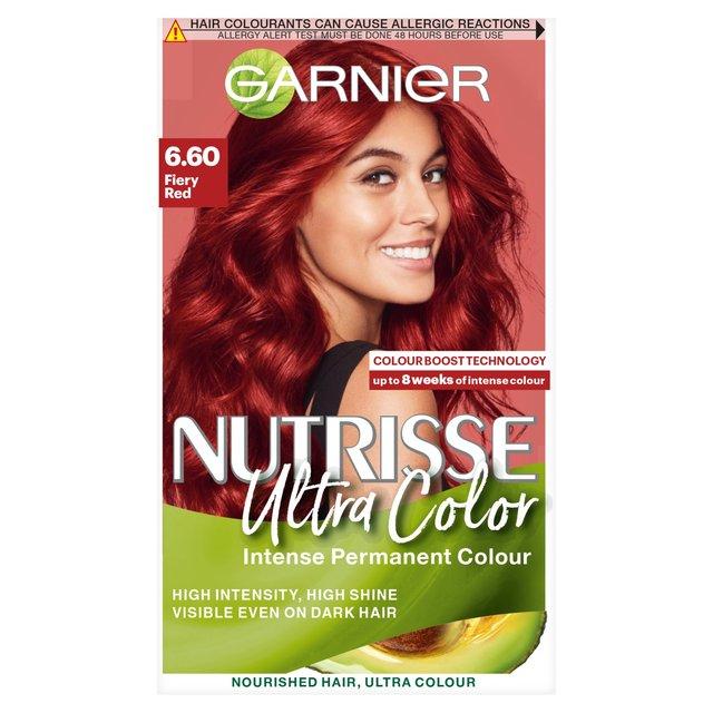 Garnier Nutrisse Ultra Colour Fiery Red 6 60