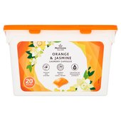 Morrisons Orange Laundry Capsules
