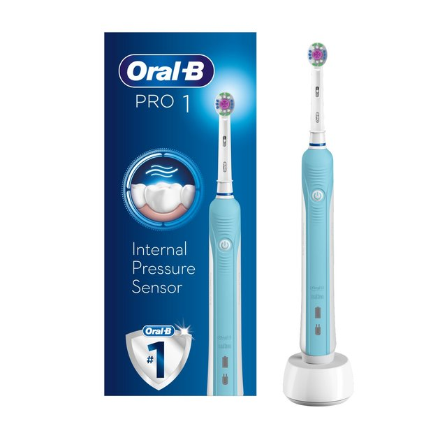 Oral B Pro 600 Cross Action Electric Toothbrush Powered by