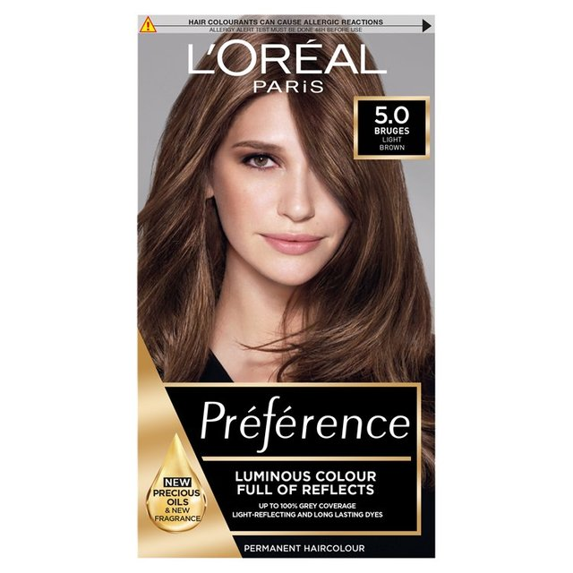 Morrisons L Oreal Preference Palma Natural Brown 5