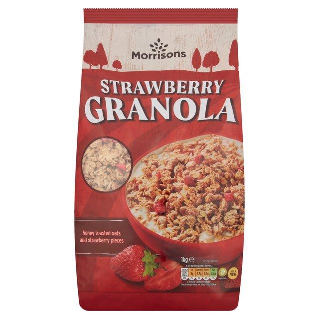 Morrisons Strawberry Granola