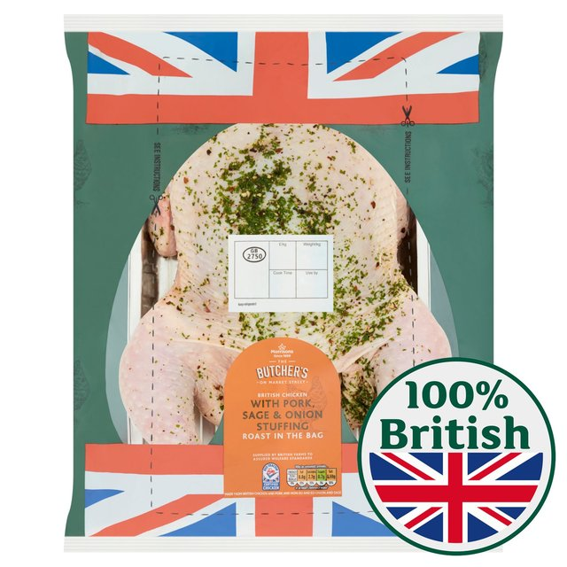 Morrisons Cook in The Bag Stuffed Whole Chicken