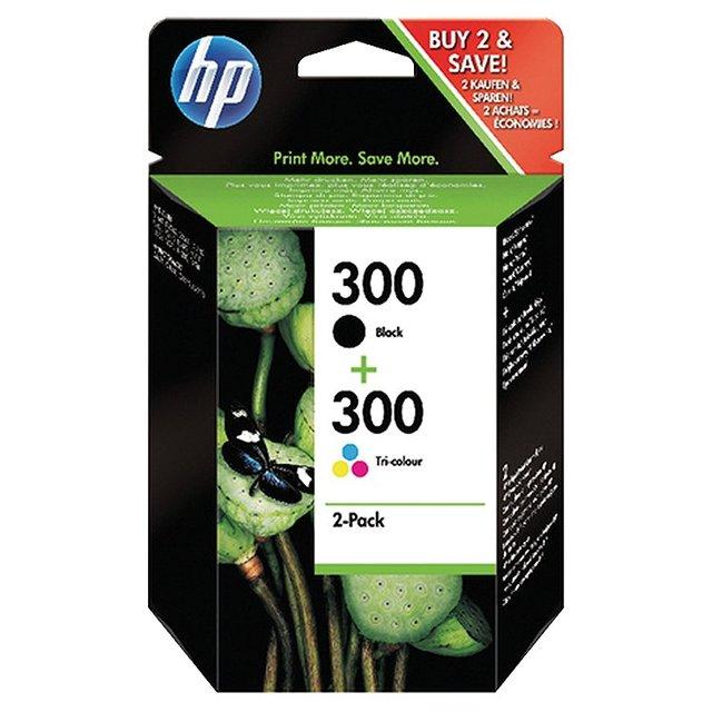 Hp 300 Black/Colour Ink Cartridge Bb