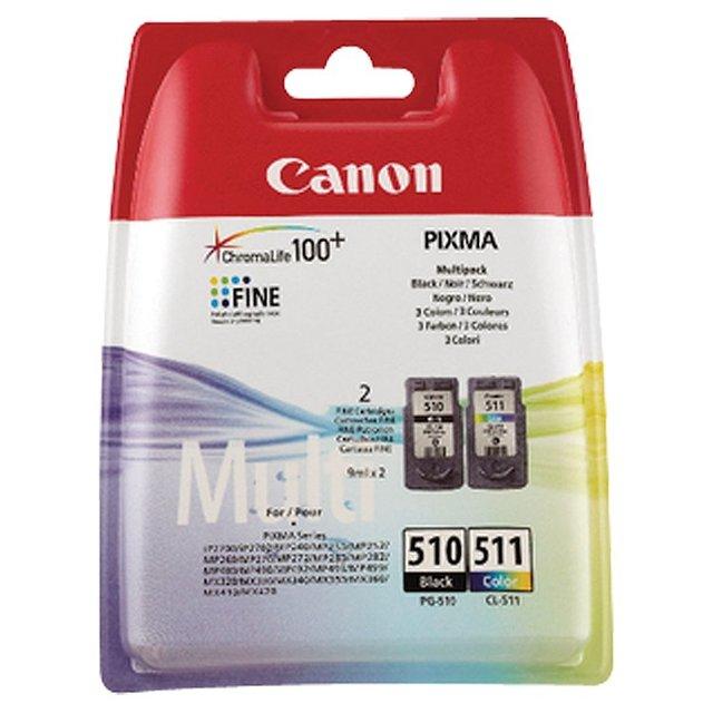 Canon Black & Colour Ink Pg510-Cl511 Bb