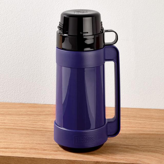 morrisons thermos flask black blue assorted 0 5 litre product information. Black Bedroom Furniture Sets. Home Design Ideas