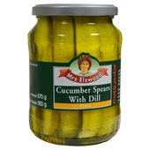 Mrs Elswood Cucumber Spears With Dill (670g)