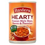 Baxters Hearty Tuscan Bean Bacon Pecorino Soup