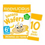 Kiddilicious Banana Wafers