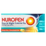 Nurofen Day & Night Cold & Flu Ibuprofen Tablets