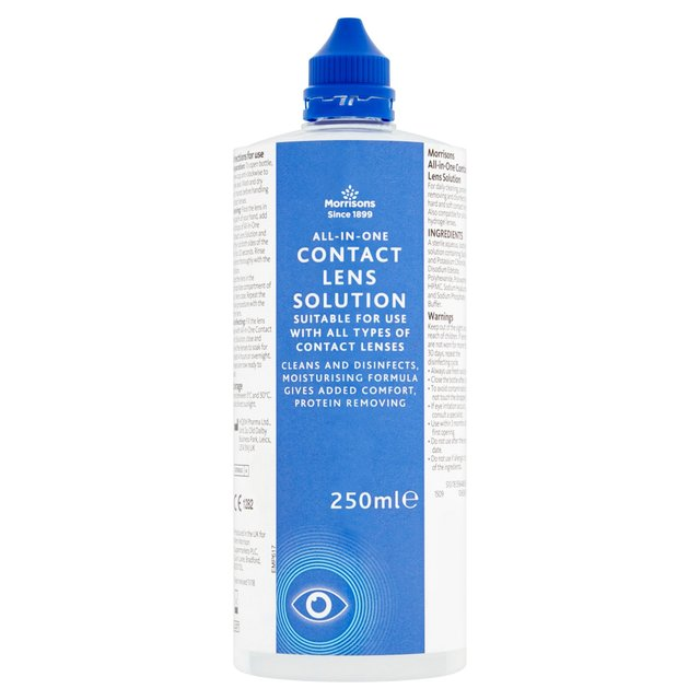 how to use clear care contact lens solution