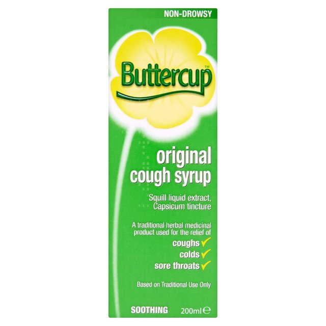 Morrisons: Buttercup Original Cough Syrup 200ml(Product ...