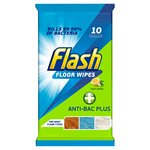 Flash Anti-Bacterial Convenient Floor Cleaning Wipes 10 Count