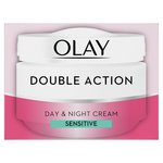 Olay Double Action Day Sensitive Cream Moisturiser & Primer
