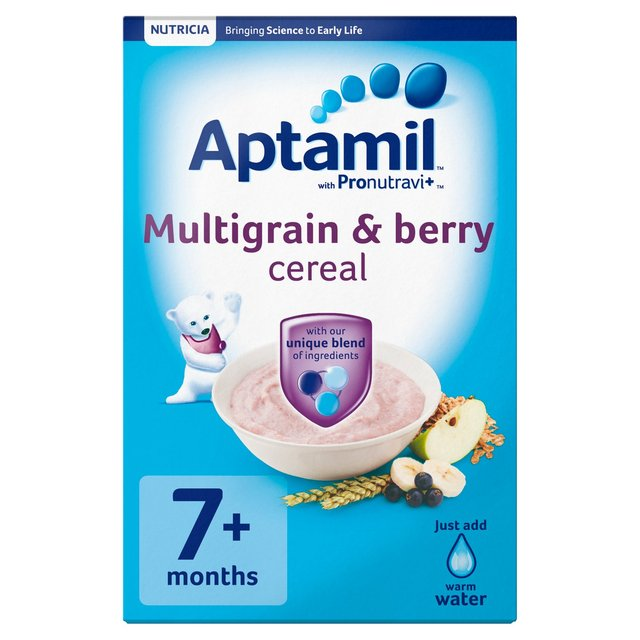 Aptamil Multigrain & Berry Baby Cereal