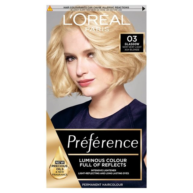Morrisons Preference Ash Blonde Blondissimes 03 Product