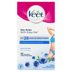 Veet Ready To Use Wax Strips Bikini & Underarm