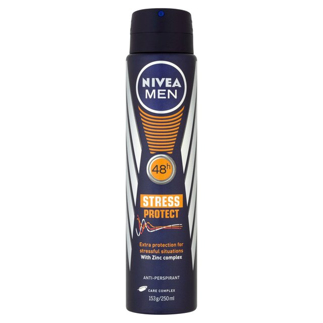 NIVEA MEN Anti-Perspirant Deodorant Spray, Ultimate Protect, 48 HRS