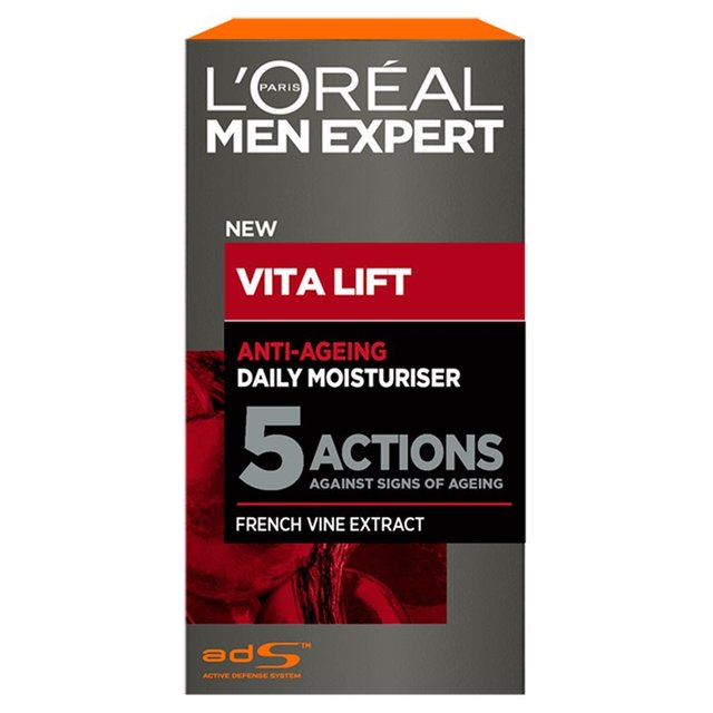 morrisons l 39 oreal men expert vita lift 5 moisture 50ml product information. Black Bedroom Furniture Sets. Home Design Ideas