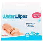 Waterwipes Baby Wipes Quad
