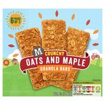 Morrisons Granola Bars Oat & Maple 6 pack