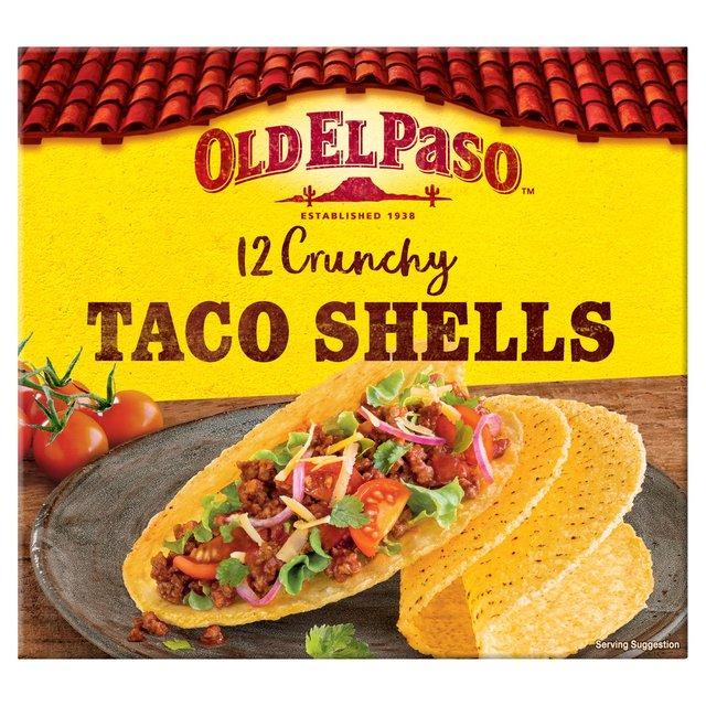 Old El Paso Crunchy Taco Shells x12
