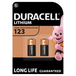 Duracell Specialty Ultra Lithium 123 Photo Battery