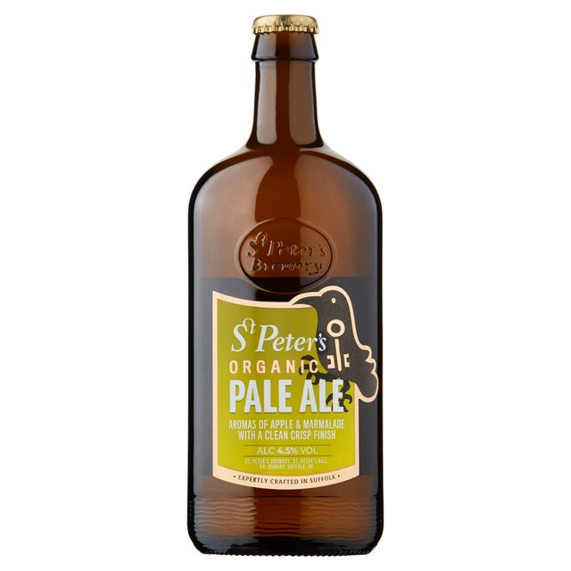 St Peters Organic Ale