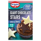 Dr. Oetker Giant Chocolate Stars