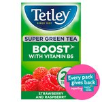 Tetley Super Green Vitamin B Berry Tea 20s