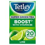 Tetley Super Green Vitamin B Lime Tea 20s