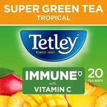 Tetley Super Green Vitamin C Tropical Tea 20s