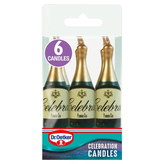 Morrisons Dr Oetker Champagne Bottle Candles Product
