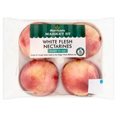 Morrisons Ripe & Ready White Nectarine Tray Pack