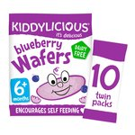 Kiddilicious Blueberry Wafers