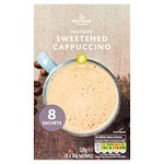Morrisons Instant Cappuccino Sweetened Coffee Sachets 8's